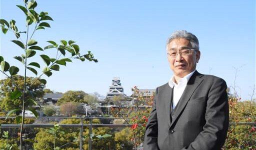 天守閣の雄姿、復興の励み 熊本市の料理店、14日に改装オープン