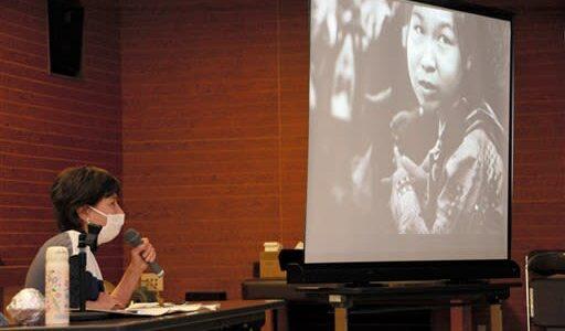 水俣病患者との交流振り返る アイリーン・スミスさん、水俣市で講演