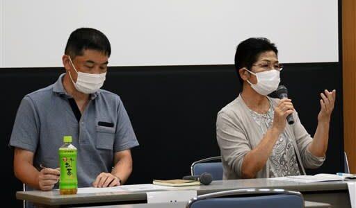 「北朝鮮に渡った日本人妻に関心を」 一時帰国に向け活動の林さん親子、熊本市で講演