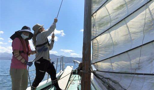 うたせ船の魅力、伝えたい 芦北町地域おこし隊員・独と奈良県出身夫妻 観光案内や企画考案も